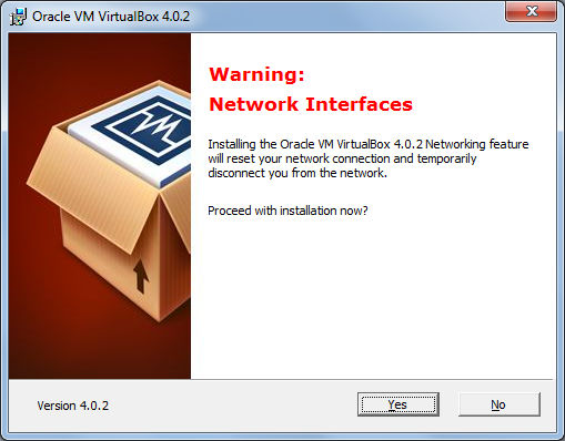 VirtualBox installation 3