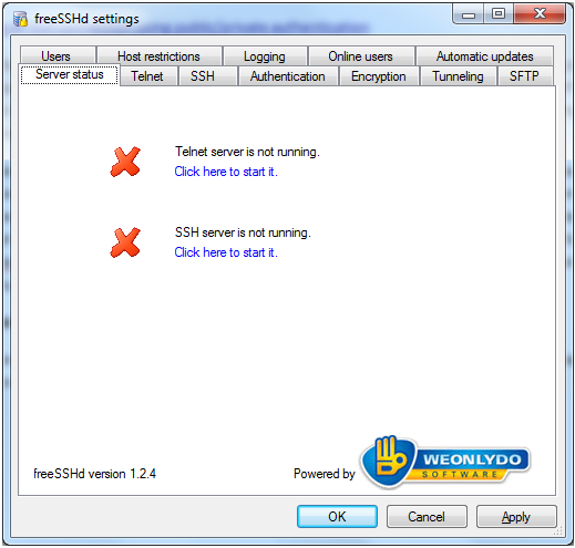 Windows SSH & SFTP Server   Shane Rutter Blog